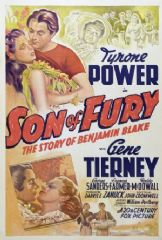 Son of Fury - The Story of Benjamin Blake 1942 DVD - Tyrone Power / Gene Tierney
